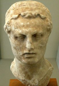 Sculpture of Antiochus IV Epiphanes, ruler of the Seleucid Empire